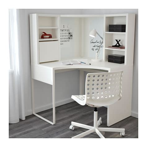 Ikea Micke Corner Desk White by Micke Corner Workstation White 100x142 Cm Ikea