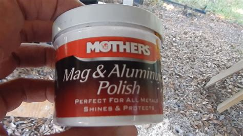 mothers mag aluminum polish review youtube