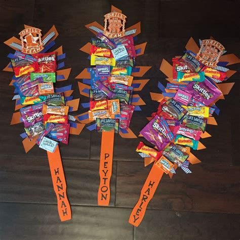 Candy Spirit Sticks! Great Team Gifts! Use Free Paint Stirrer From Home Depot, Paint It And Add