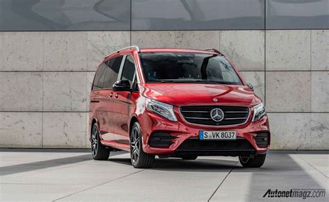 Gambar Mobil Mercedes V Class by Mercedes V Class Rise Special Edition Sisi Depan