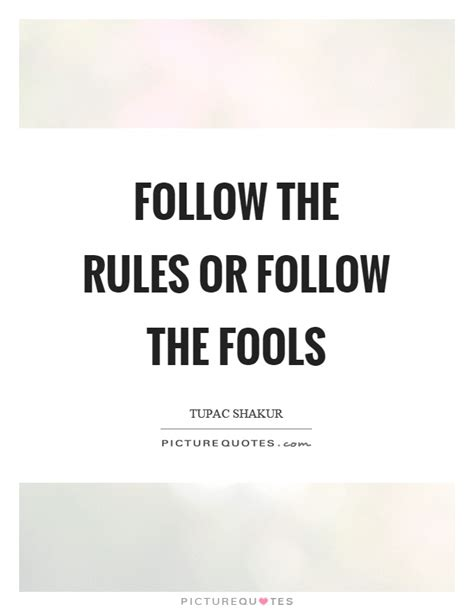 Rule Following Quotes