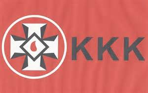 Ku Klux Klan Confederate Flag