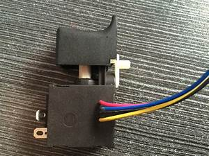 Dc Electric Power Tool Switch - Fa021a-60