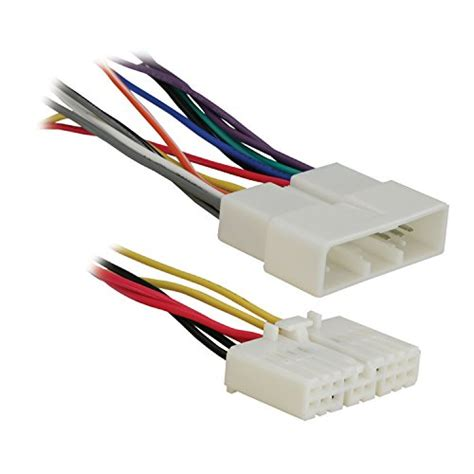 Scosche Gm035 Wiring Harnes Color Code by Scosche Car Stereo Wiring Connector 94 06 Gm Walmart