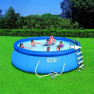 Piscine Intex Hors Sol : photo piscine hors sol m intex ~ Dailycaller-alerts.com Idées de Décoration