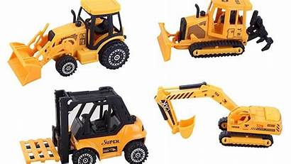 Diecast Farm Construction Toys Toy Tractors Gifts