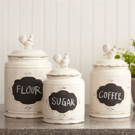 ceramic kitchen canister sets ceramic stoneware canisters birch bantam kitchen