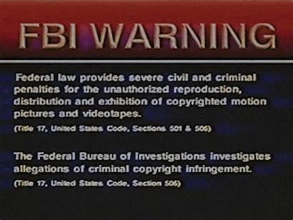 Fbi Giphy Warning Vhs Gifs