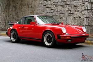 Porsche 911 3 2 : 1987 porsche 911 carrera g50 targa orginial paint rebuilt 3 2 with records ~ Medecine-chirurgie-esthetiques.com Avis de Voitures