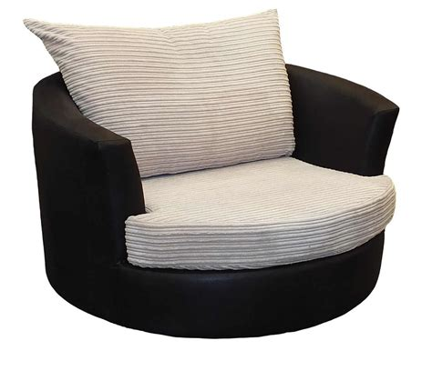swivel cuddle chair and footstool cuddle chairs customised hi 5 home furniture
