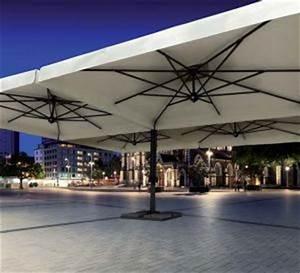Grand Parasol Rectangulaire : parasol d port parasol excentr parasol haut de gamme terrasse grand parasol g ant bois ~ Teatrodelosmanantiales.com Idées de Décoration