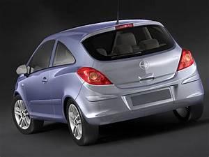 Opel Corsa City : 3d model opel corsa city car ~ Medecine-chirurgie-esthetiques.com Avis de Voitures