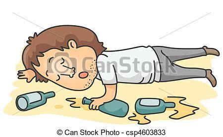 cartoon drinking alcohol dibujos de alcohólico a drunk man lying unconscious