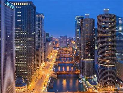Chicago Downtown Illinois Wallpapers Cities Updated Views