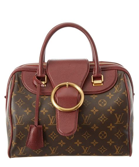louis vuitton louis vuitton bordeaux monogram canvas golden arrow speedy  louisvuitton