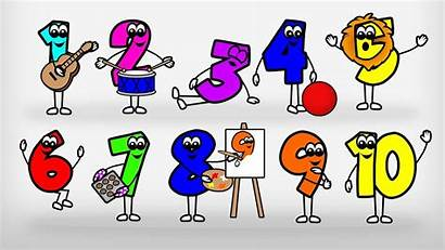 Numbers Counting Preschool Count Song Learn Cartoon