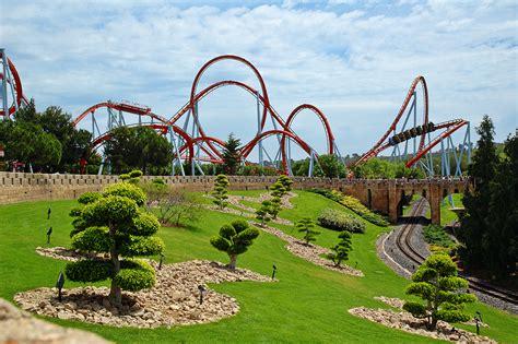 barcelona photoblog port aventura amusement park khan attraction salou tarragona