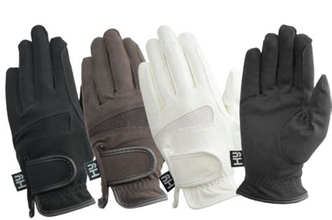 gloves riding horse summer lightweight hy5 competition hound