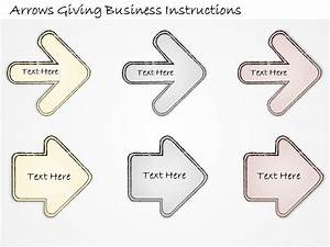 2502 Business Ppt Diagram Arrows Giving Business