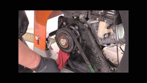 mvh plate compactor belt removal install youtube