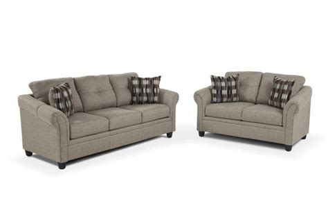 bobs furniture pandora sofa loveseat living room sets living room