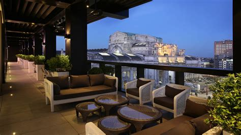 Outdoor Radio For Deck by Terrazza Gallia Excelsior Hotel Gallia Milano