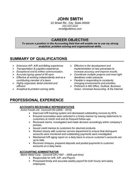 sle cover letter accounting specialist resume sle