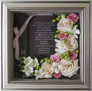 best 25 preserve wedding bouquets ideas on pinterest With framed wedding invitation dried flowers
