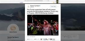 Reuters Deletes Tweet Depicting 'Peace Activists' at ...