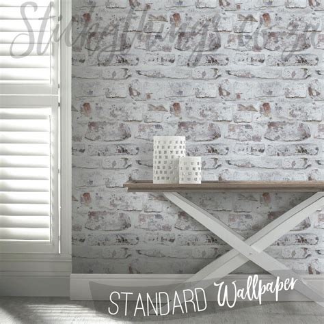 3d Brick Wallpaper South Africa by Whitewashed Brick Wallpaper White Washed Mural
