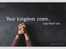 3 Reasons to Pray for the Kingdom of God COGWA Members