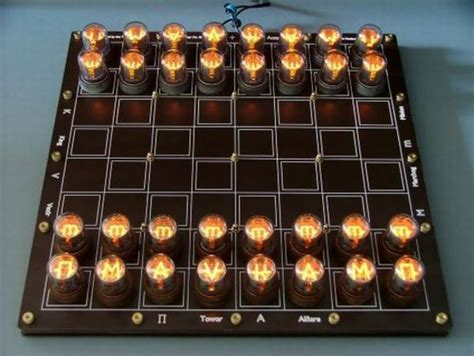 Nixie Tube Chess-set Kits / Boing Boing Diy Battery Drill Motor Electric Bike 1 Moving Time Lapse Rig Wedding Party Gifts Barbie Dollhouse Furniture Reception Jewelry Box Desktop Organizer Microfiber Upholstery Cleaner Table Decorations For Baby Shower