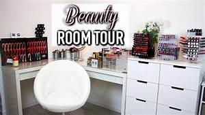 Rangement De Maquillage : mon rangement maquillage horia youtube ~ Melissatoandfro.com Idées de Décoration