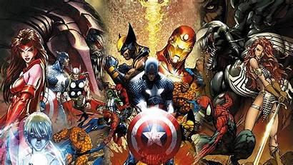 Marvel Characters Powerful Universe Viralchakra