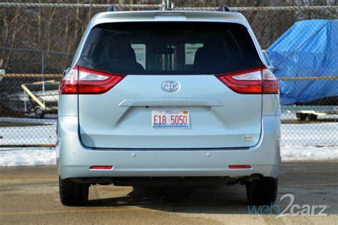toyota sienna xle premium awd review webcarz
