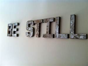 chicpaint tutorial for faux vintage sign letters With old sign letters