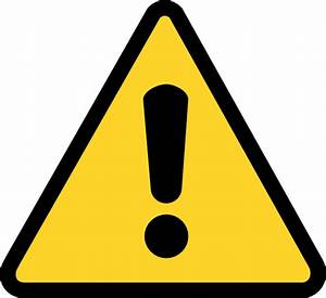 Warning Icon Clip Art at Clker.com - vector clip art ...