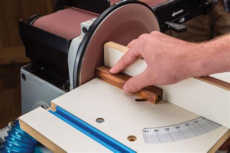disc sander  rockler ensures pinpoint precision