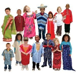 dramatic play multi ethnic costumes include mexican