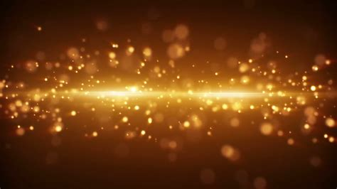 Bright Golden by Gold Light Stripe And Particles Loopable Background Motion