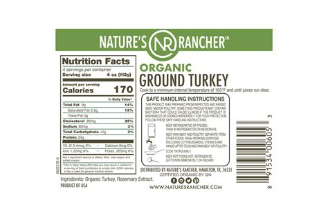 Add the ground turkey and sautée, breaking apart until no longer pink. All Natural Organic Ground Turkey 93/7 | Nature's Rancher