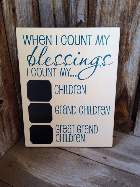 count  blessings  count  children