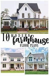 10 Modern Farmhouse Floor Plans I Love - Rooms For Rent blog