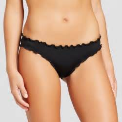 women s wave ruffle cheeky bikini bottom shade shore
