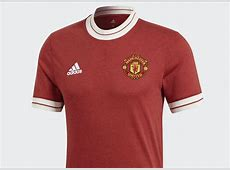 Adidas Manchester United Home Icon jersey Real Red