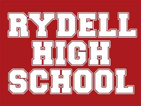 Rydell High School T-Shirt Musical Broadway Cosplay Cosplayer