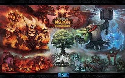 Warcraft Cataclysm Horde Wallpapers Wow Fan Backgrounds