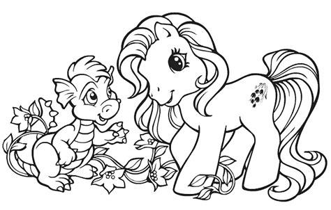 Coloring Kuda Poni by Gambar Kuda Poni Hitam Putih