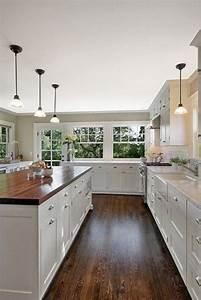 White, Kitchens, With, Dark, Floors, 13, U2013, Decor, U0026, Gardening, Ideas