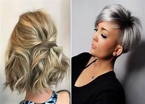Coiffure Cheveux Court : 10 coiffures simples et faciles pour cheveux courts ~ Melissatoandfro.com Idées de Décoration